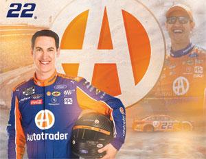 Team Penske Logano AutoTrader Driver Card