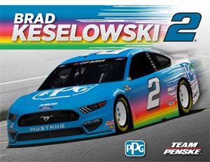 Team Penske Keselowski Driver Card