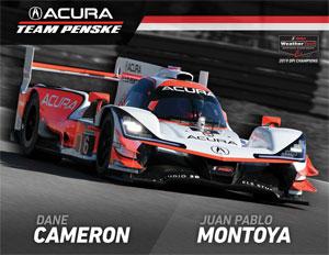 Team Penske IMSA 6 Driver Card