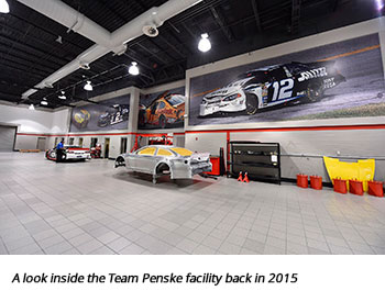 A look inside the Team Penske facility back in 2015