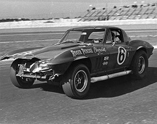 This Corvette earned a GT victory in 1966 at Daytona in Team Penske's first race