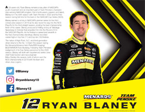 Blaney Hero Card