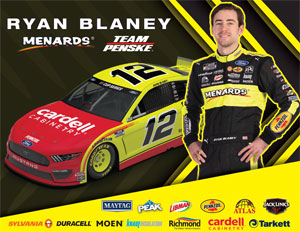 Ryan Blaney Cardell Hero Card