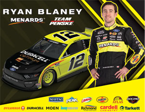 Blaney Duracell Hero Card