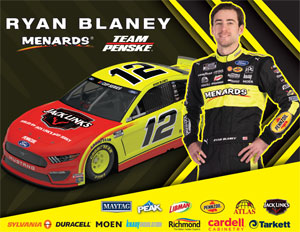 Ryan Blaney Jacklinks Hero Card