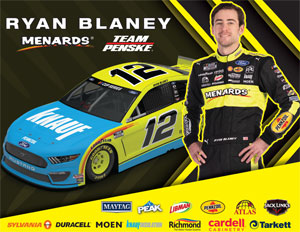 Team Penske Knauf Hero Card