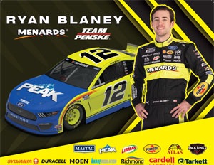 Team Penske Peak Hero Card