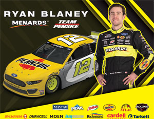 Team Penske Pennzoil Hero Card