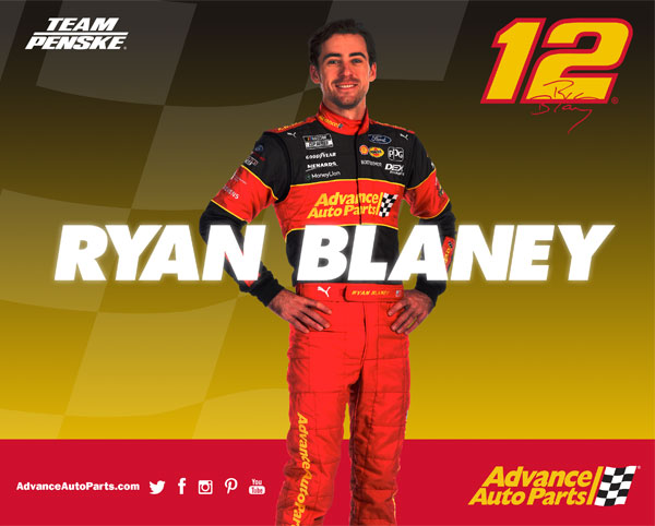 Blaney Advanced Autoparts Hero Card