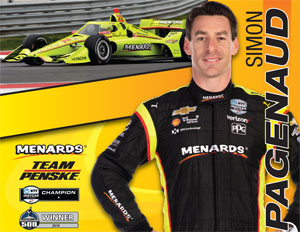 Team Penske Pagenaud Front