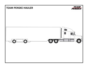 Hauler Coloring Page