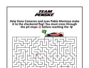 Team Penske IMSA Maze
