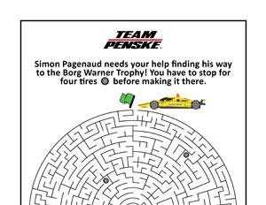 INDYCAR Pagenaud Maze