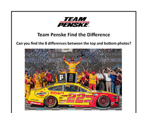NASCAR Find The Difference
