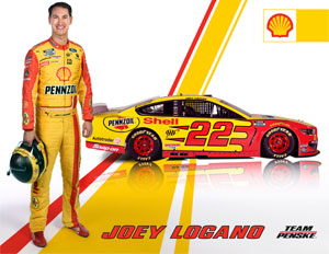 Team Penske Logano Driver Card
