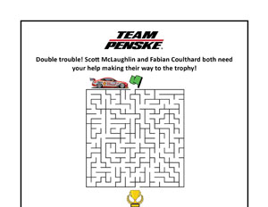 Team Penske SuperCars Maze