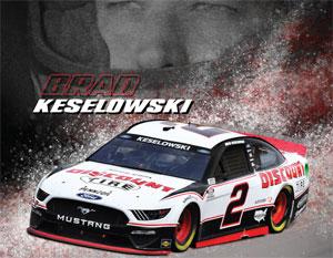 Keselowski Driver Card