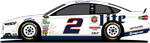 No. 2 Miller Lite Ford Fusion