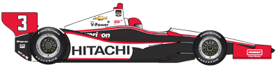 No. 3 Team Penske Dallara / Chevy