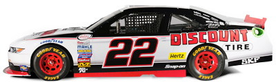 No. 22 Discount Tire Ford Mustang