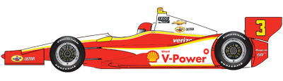 No. 3 Shell-Pennzoil Team Penske Dallara/Chevy