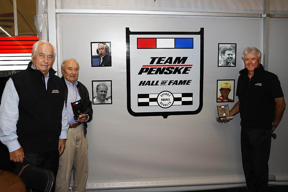 2017 Team Penske Hall of Fame Inductees