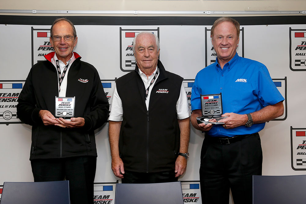 2018 Team Penske Hall of Fame Inductees