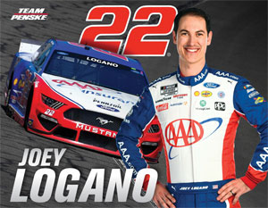 Team Penske Logano Driver Card