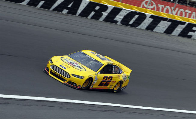 Joey Logano Qualifies Fifth for Sprint All-Star Race