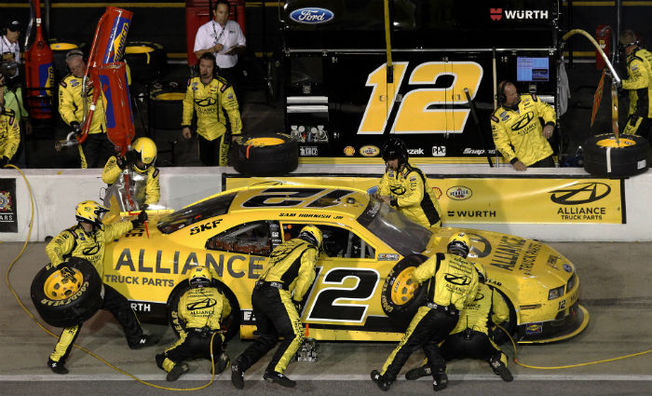 Top-10 Result for Hornish at Darlington Raceway