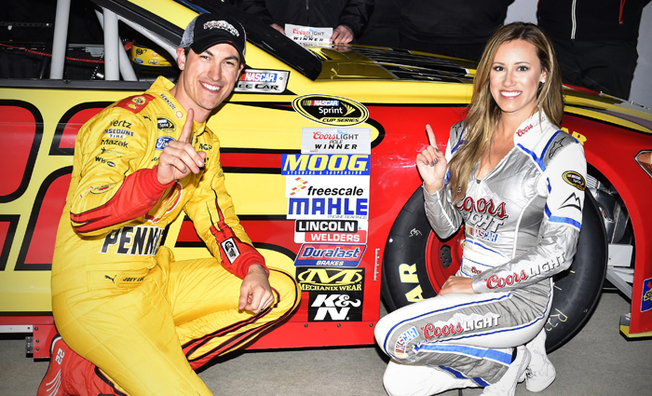 Logano Posts Fastest Lap To Earn Ninth-Career Pole
