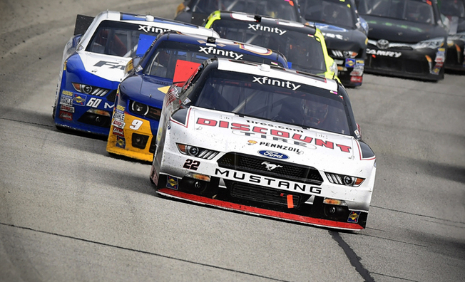 Logano Races To A Second-Place Finish In Hisense 250
