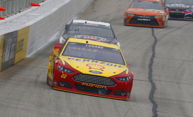 Logano Races From Pole Position To Top-Five At Atlanta