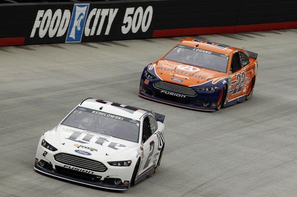 Team Penske NASCAR Sprint Cup Series Race Report - Bristol
