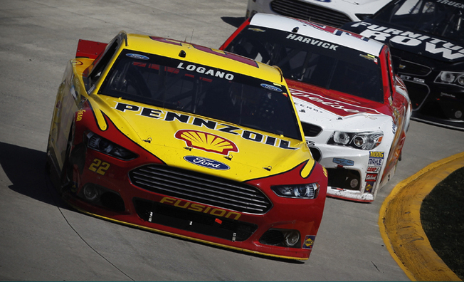 Logano Overcomes Mid-Race Spin to Finish Third