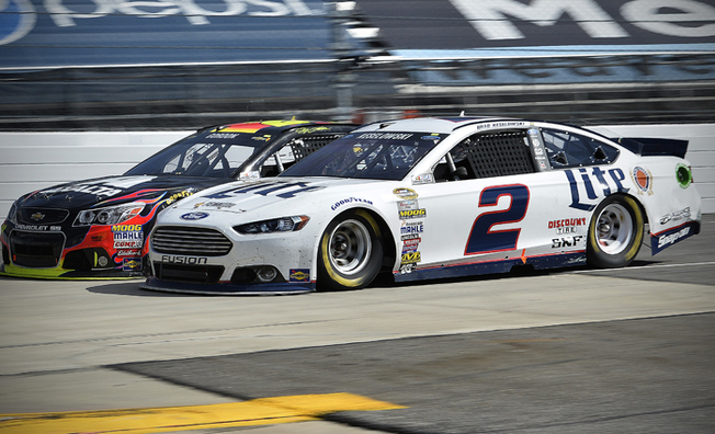 Keselowski Posts A Second-Place Result at Martinsville