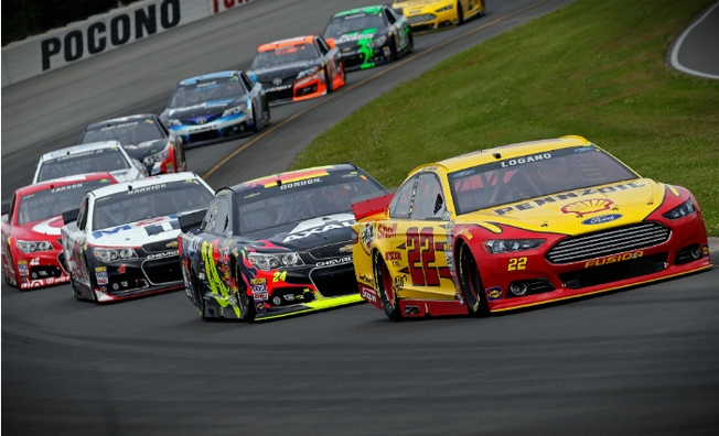 Top-5 Result for Logano in GoBowling.com 400