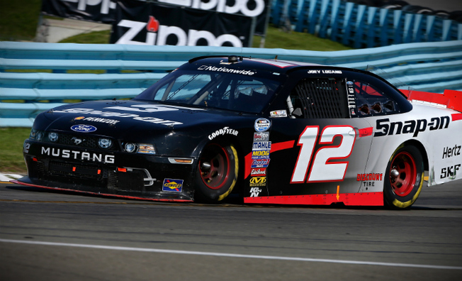 Logano Holds Team Penske Teammate Off to Finish Third