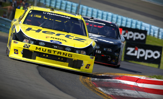 Keselowski Races From Pole to Top-5 Result at The Glen