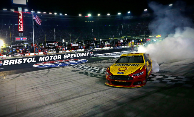 Joey Logano Conquers The World's Fastest Half-Mile