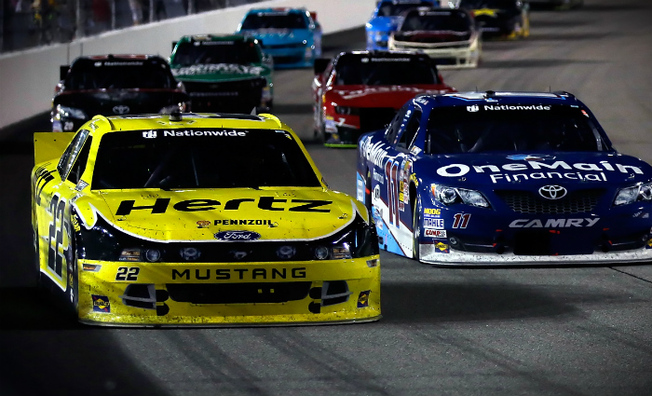 Blaney Charges to Top-5 Finish Friday Night at Richmond