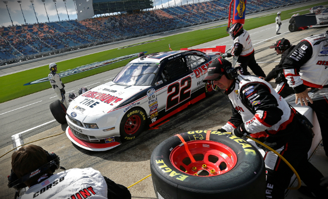 Ryan Blaney Scores Sixth Top-Five at Chicagoland