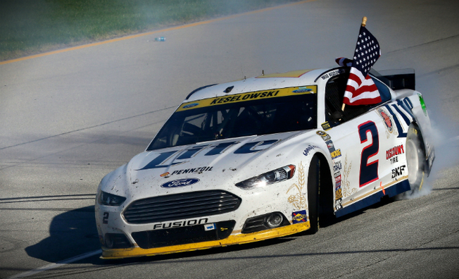 Keselowski Victorious In First Race Of  The Chase