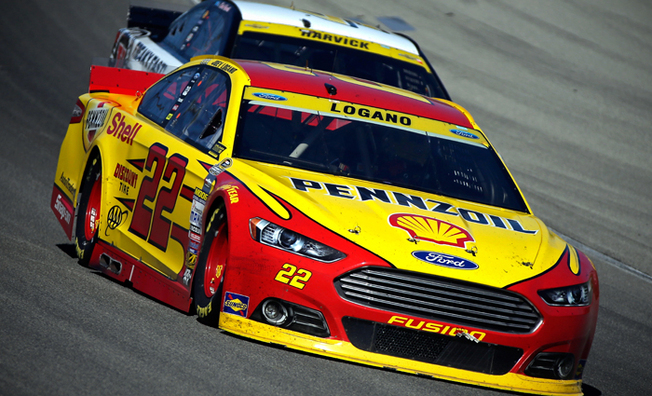 Top-5 Finish For Logano At Chicagoland Speedway