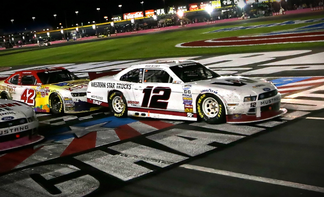 Blaney Battles To His Eighth Top-Five Finish Of 2014