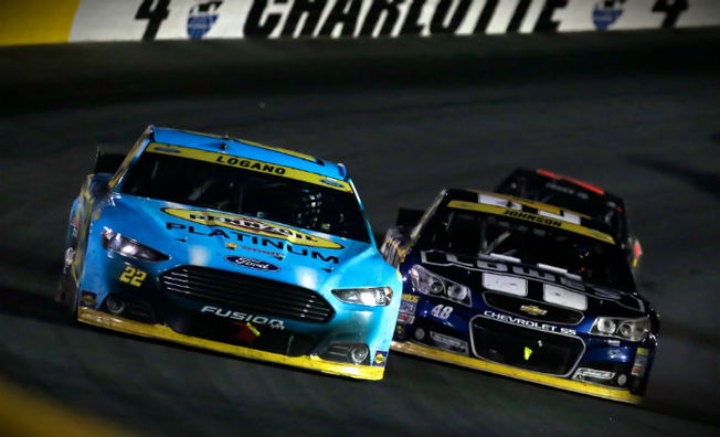 Logano Collects Fifth-Straight Top-Five In Charlotte
