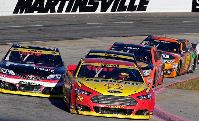 Logano Scores Another Chase Top-5 Finish