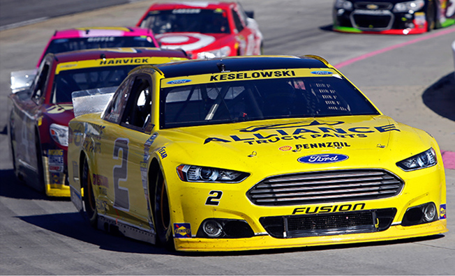 Tough Afternoon At Martinsville For Keselowski