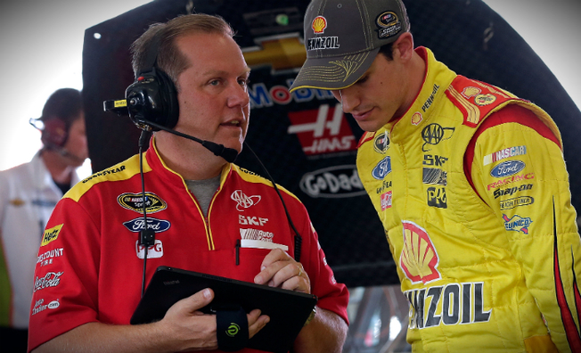 Keselowski And Logano Each Qualify In Top-10 In Miami
