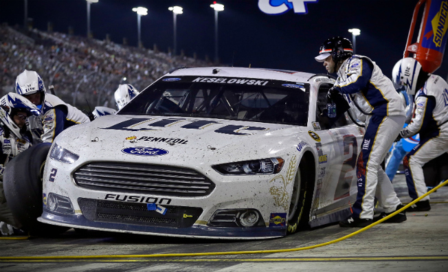 Keselowski Finishes Third in Ford EcoBoost 400